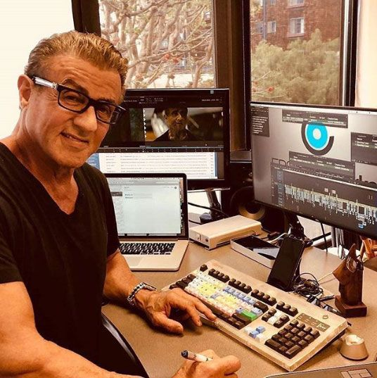Hey I Don T Know Sylvester Stallone Is A High Tech Guy Credit Producerwithnostudio Pcgami Video Editing Studio Sylvester Stallone Audio Studio