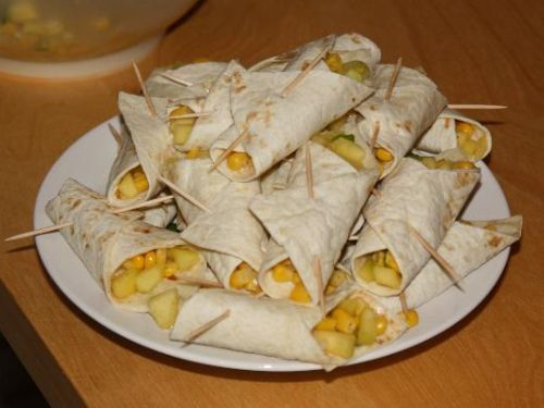 Mais- Tortilla-Wraps