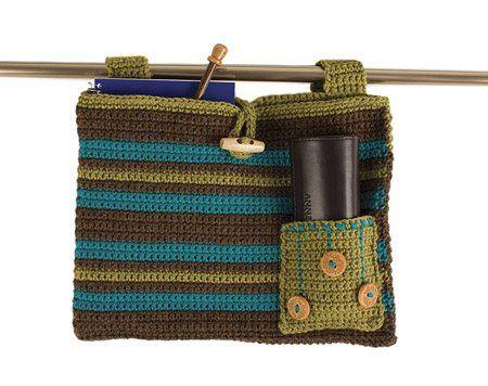 Crochet Patterns For Walker Bags : Helping hand walker bag....crochet pattern. Make several ...