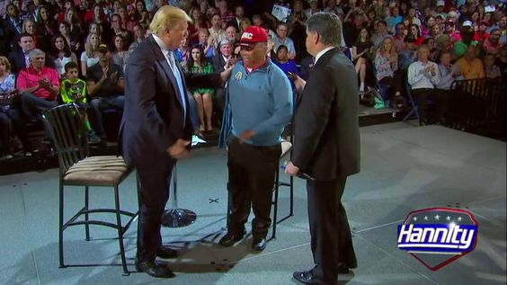 Wounded Vet Takes Sean's Seat to Deliver Powerful Message to Donald Trump