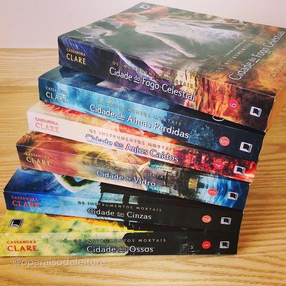 Série de Livros Os Instrumentos Mortais, de Cassandra Clare!!