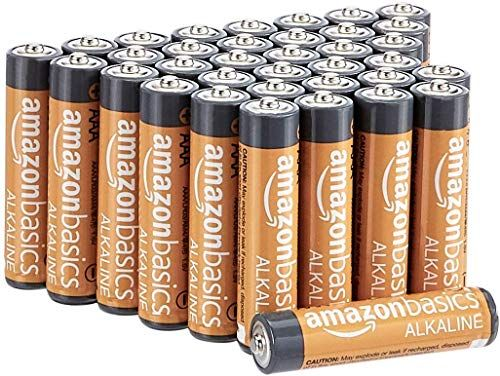 Amazonbasics 36 Pack Aaa High Performance Alkaline Batteries 10 Year Shelf Life Easy To Open Value Pack Amaz Alkaline Battery Alkaline Rechargeable Batteries