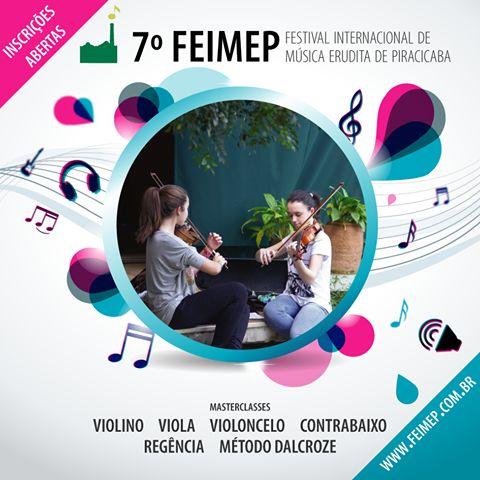 A sétima edição conta ainda com uma programação artística, com concertos gratuitos de orquestras e grupos de música de câmara, nacionais e internacionais.