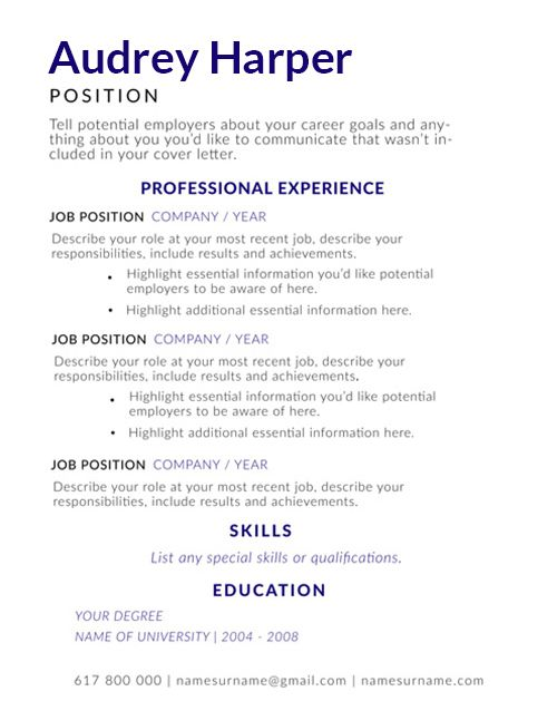 Resume Templates Indeed 2 Professional Templates Resume Summary Examples One Page Resume Template Resume