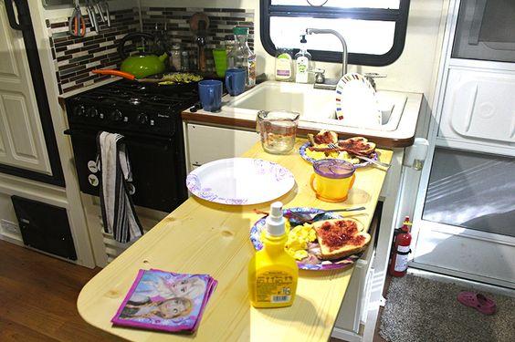 Http Www Doityourselfrv Com Add  Inches Small Rv Kitchen Countertop