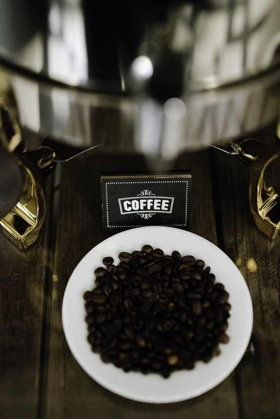 If You Re Worried About Coffee Spilling Onto The Table Or Linen At An Event Put A Small Plate With Coffee Beans Under Spilled Coffee Tea Station Small Plates