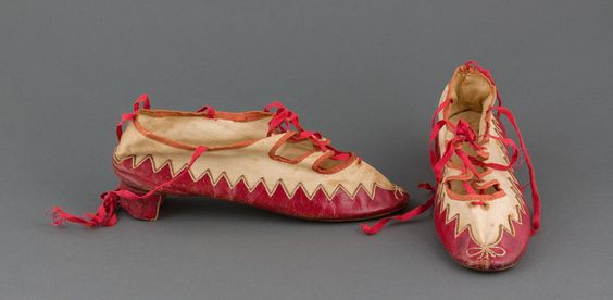 Shoes, 1804-1810.