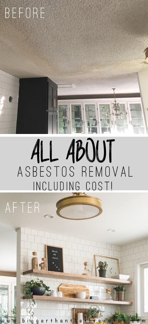 All the details on Asbestos removal and drywall installation