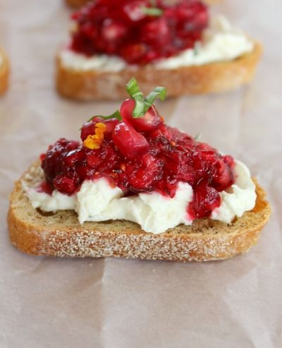 Cranberry Pomegranate Relish is delish served with crackers or atop ...