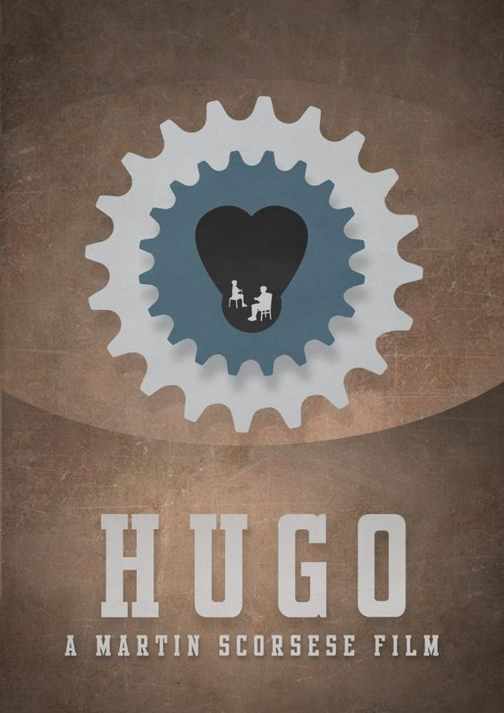Minimalist movie posters: Hugo