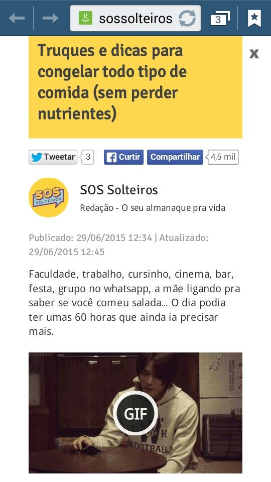 DICAS PRA CONGELAR ALIMENTOS http://sossolteiros.bol.uol.com.br/truques-e-dicas-para-congelar-todo-tipo-de-comida-sem-perder-nutrientes/?cmpid=fb-uolmul