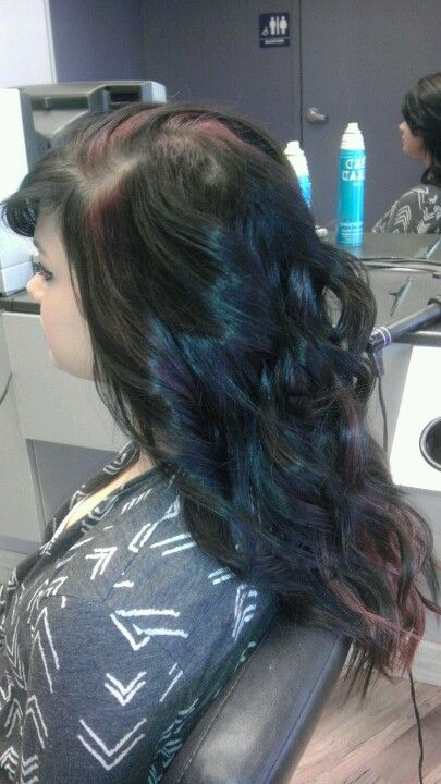 Bored at work so I curled this lovely ladys hair :)