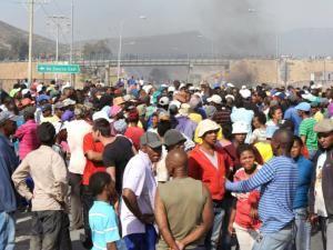 de doorns farmworkers protest