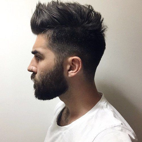 Hairstyles With Beards 20 Best Haircuts That Go With Beard Beard Hairstyle Beard Styles For Men Medium Hair Styles