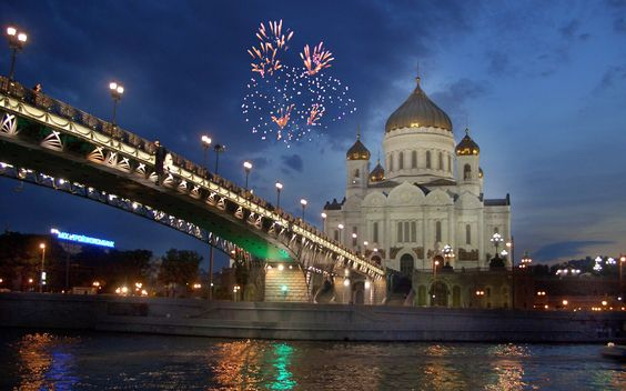 Cathedral-of-Christ-the-Saviour-Moscow-(Russia)