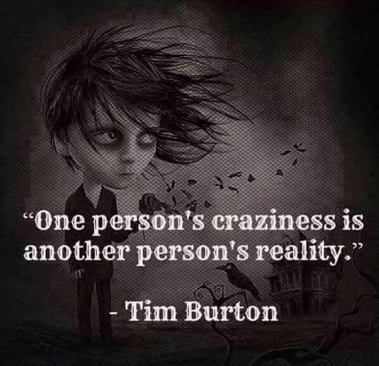 tim burton quote                                                                                                                                                      More