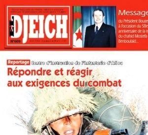 L'armée algérienne se dit 'fidèle' au pouvoir et dénonce les voix qui l'ont appelé 'à violer la constitution'