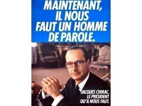 affiche de chirac 1981 affiches lectorales pinterest helmut newton. Black Bedroom Furniture Sets. Home Design Ideas