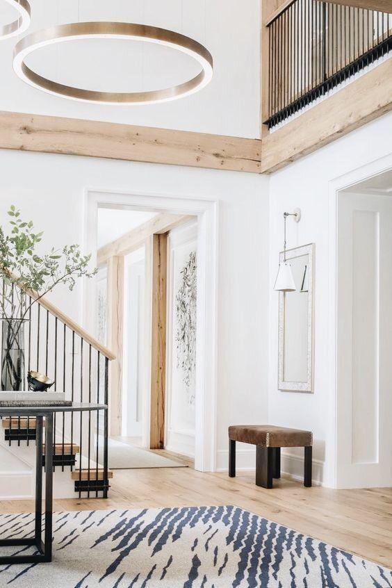 Interior Inspiration Natural Wood Studio Mcgee House Design Home House Inspiration