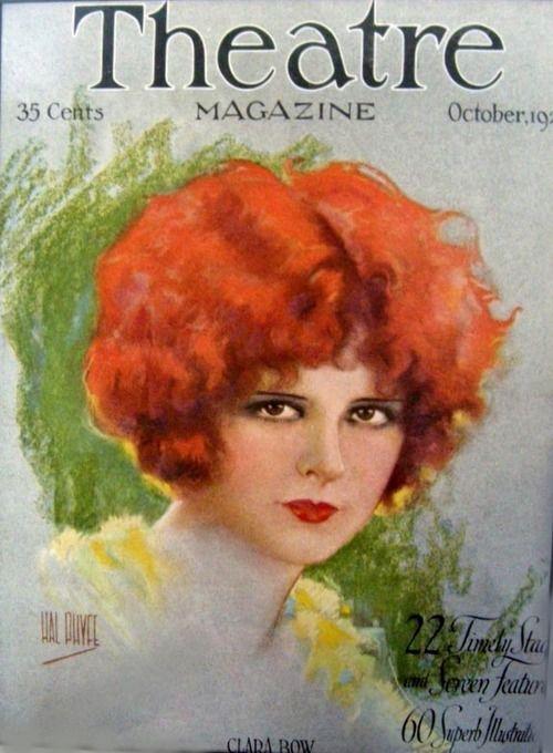 Clara Bow, Theatre Magazine