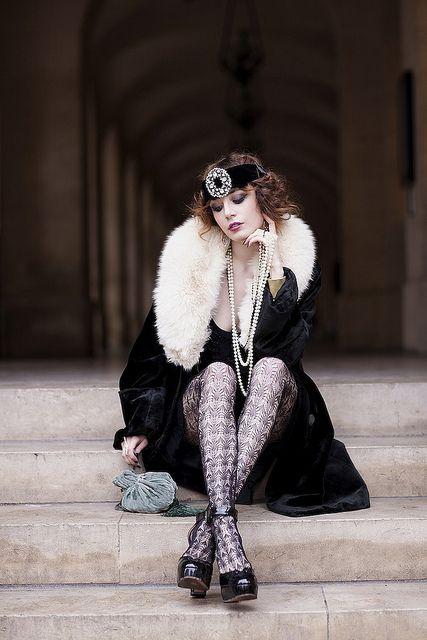 La mode des années folles : inspiration by Les Cachotières /  ebellouise, via Flickr
