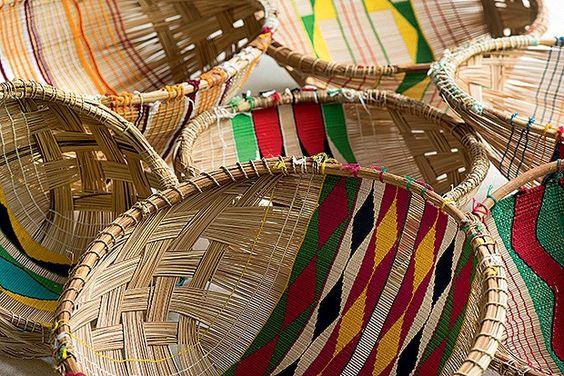Cestaria do Xingu Arte Indígena Povo Costume