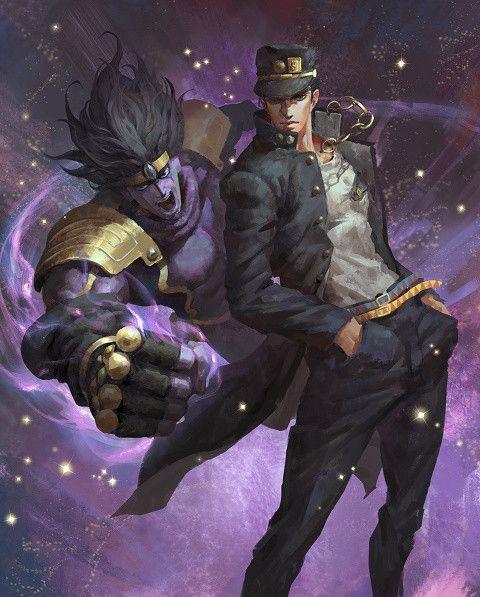 JoJo's Bizarre Adventure's Jotaro Kujo & Star Platinum