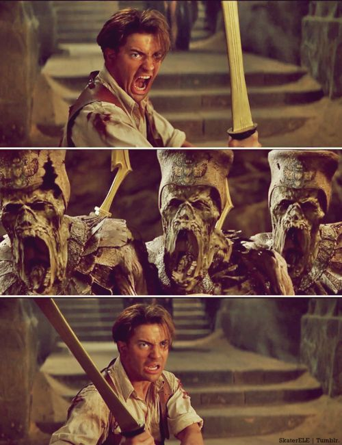 the mummy.  still one of my favourite movies!