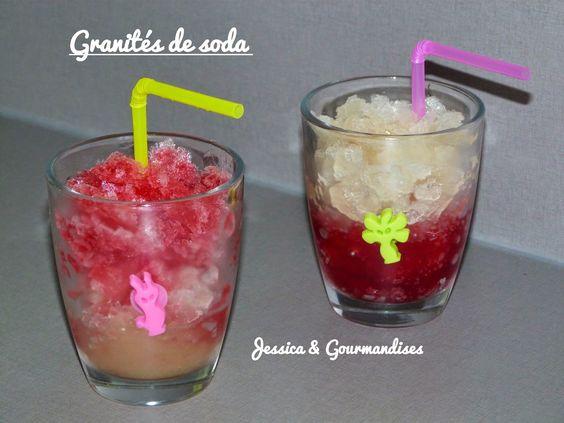 Jessica & Gourmandises: Granités de soda