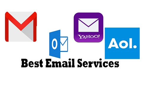 Best Email Services Gmail Outlook Yahoo Mail Aol Mail How To Sign Up Best Email Service Best Email Email Service