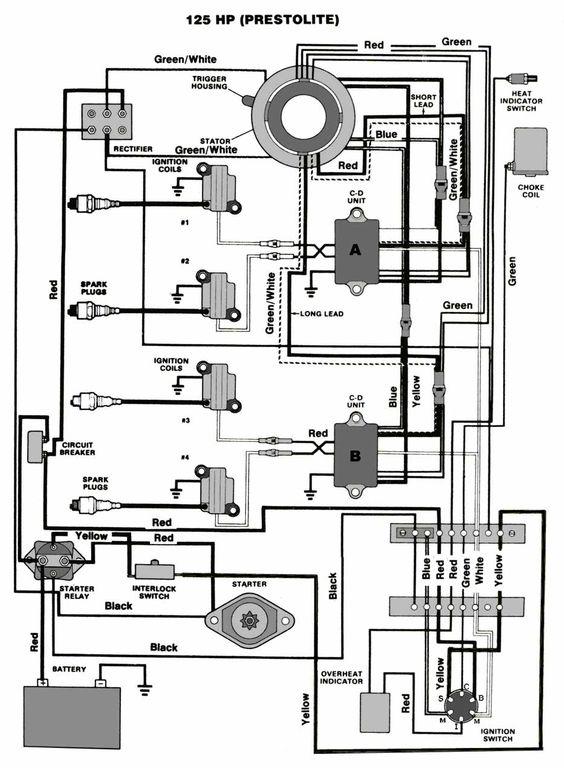 mercruiser 140 wiring diagram   29 wiring diagram images
