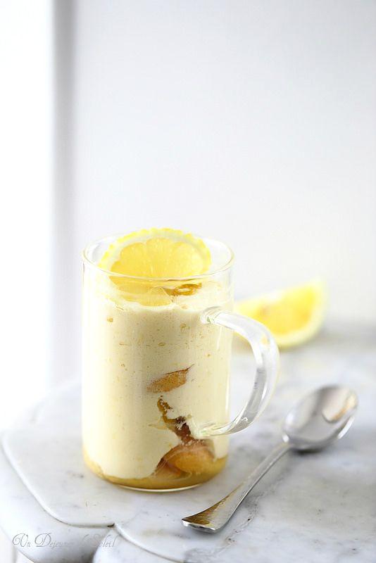 Un dejeuner de soleil: Tiramisù au citron et au limoncello