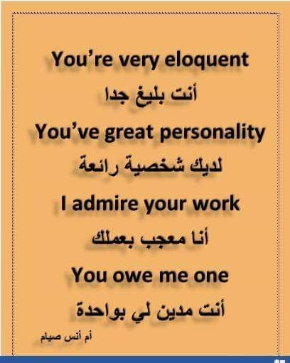 Learning Arabic Msa Fabienne Learn English Vocabulary Learn English English Language Teaching