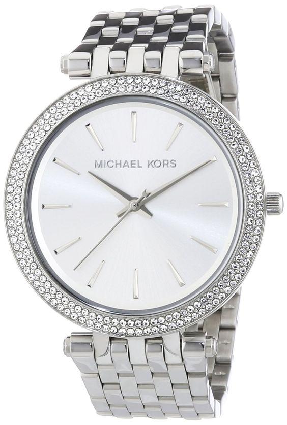 Michael Kors - MK3190 - Montre Femme - Quartz Analogique - Cadran Argent - Bracelet Acier Argent