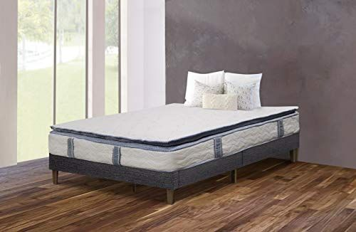 Orthosleep Products 9 Inch Pillow Top Firm Mattress One Sided