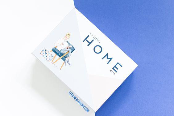 My little box de février. My little HOME box sur la thème de la déco d'interieur.