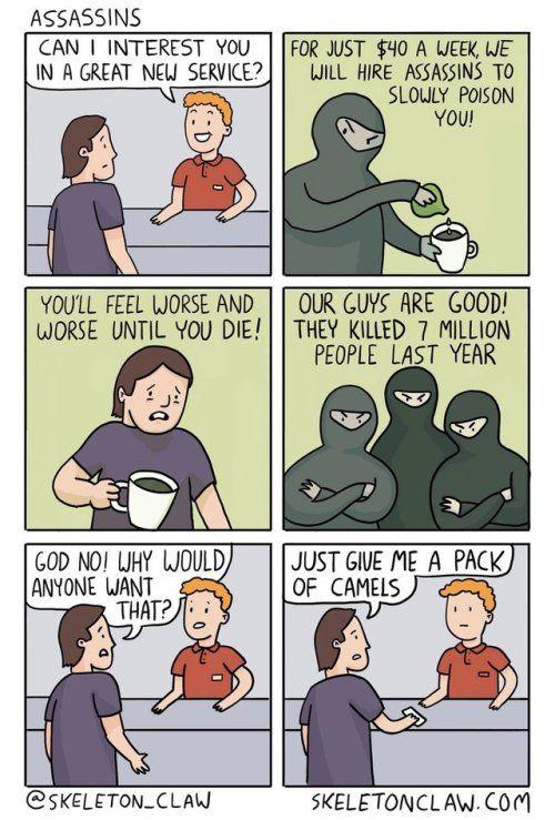 Assassins Re Draw Patreon Facebook Twitter Reddit Dark Humor Comics Dark Comics Comics