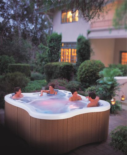 Jacuzzi In My Backyard : hot tub might be nice to have in my backyard  Landscaping