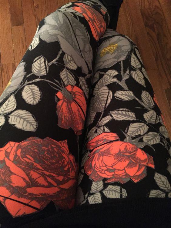 I love my #LulaRoe #leggings! #roses #unicorn https//www.facebook.com/groups/561265444022119 ...
