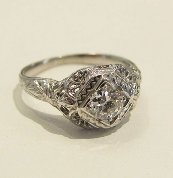 Vintage Rings  #huntvalleyjewelers