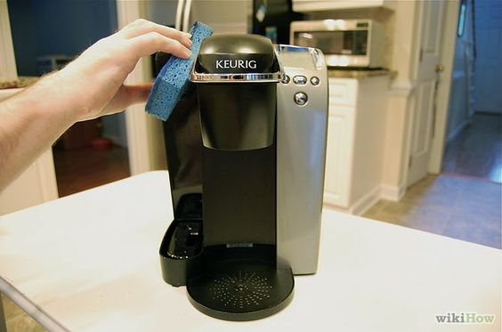 how to clean keurig with clr