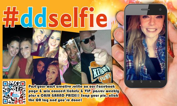#Selfie Promotional graphic for Denim and Diamonds in Wichita Falls....