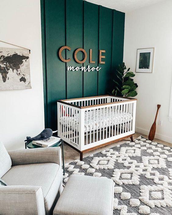7 Lucky Green Nurseries With Style Alphadorable Custom Nursery Art And Decor In 2021 Baby Boy Room Nursery Nursery Baby Room Nursery Room Design