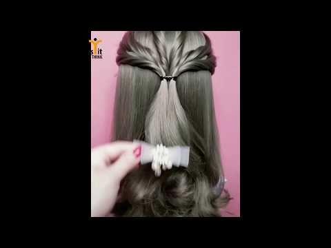 How I Style My Short Hair Very Easy Hanonakid Diy 2019 Youtube Short Hair Styles Hair Style