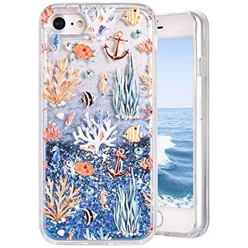 Paillette Coque iPhone 7/ iPhone 8 MeganStore Jolie 3D Flottant ...