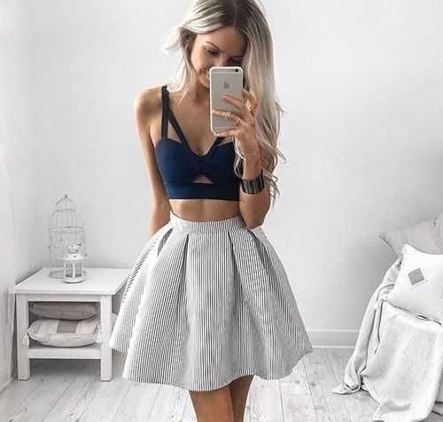 Imagen de fashion, style, and skirt