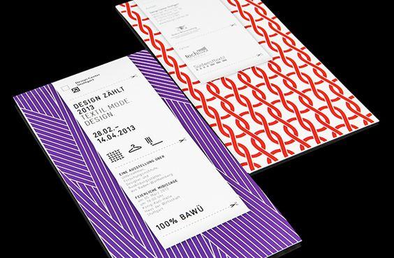 Design zählt Textil.Mode.Design. on Behance