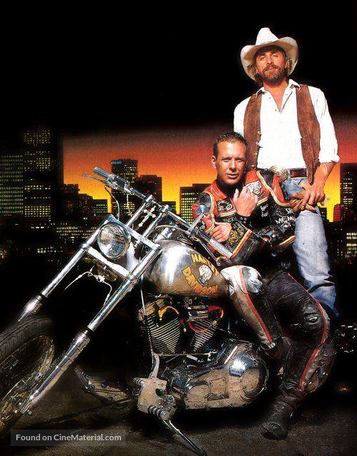 Harley Davidson And The Marlboro Man German Key Art Marlboro Man Harley Davidson Harley
