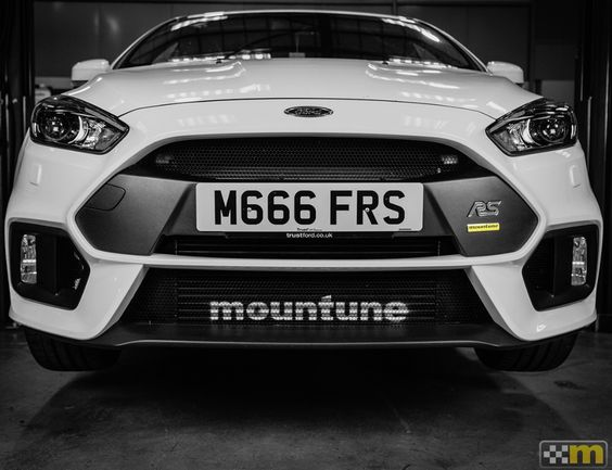 Mountune The Best Mk3 Focus Rs Parts Intercooler Upgrade Focus Rs Ford Focus Ford Rs