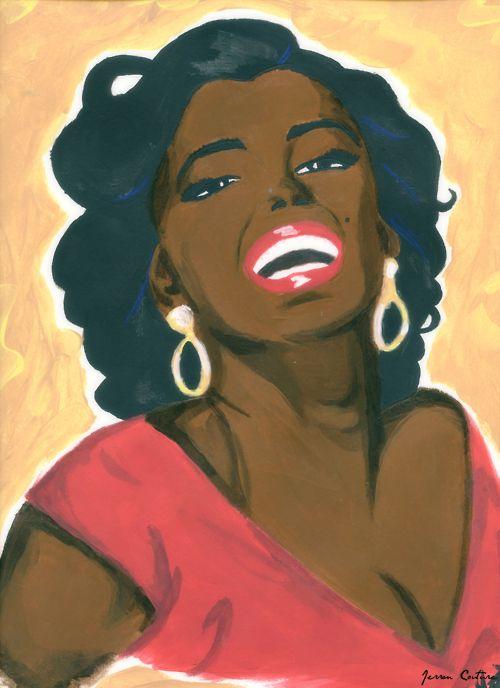 African American Marilyn Monroe.